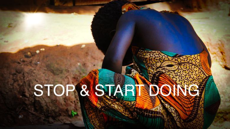 Your Start And Stop Doing